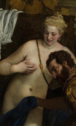 Mars and Venus United by Love, Paolo Veronese, The Metropolitan Museum of Art; John Stewart Kennedy Fund, 1910 (detail).