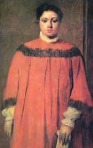 Girl in Red, Edgar Degas, National Gallery of Art, Washington; Chester
